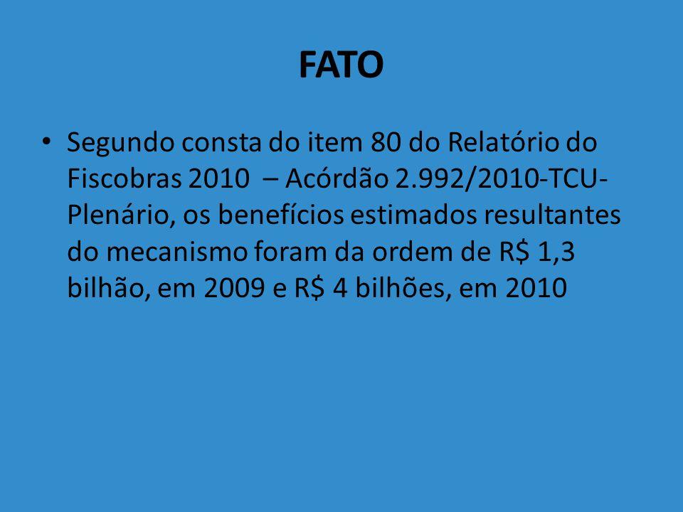PROPOSTAS DE MUDANÇA – PLDO 2012 decisão do Plenário do Tribunal, por meio de acórdão, ou decisão monocrática de Ministro do TCU (art.