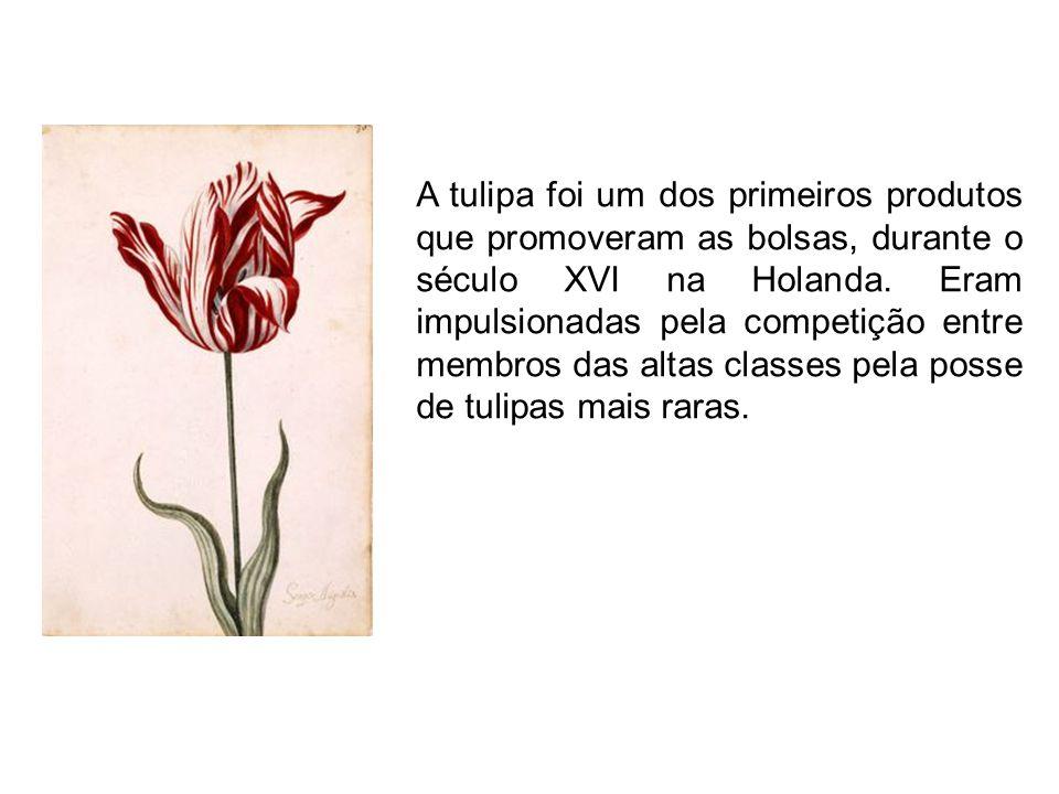 O auge de tal cotação ocorreu quando um bulbo de tulipa foi vendido pelo preço equivalente a 24 toneladas de trigo supervalorizando-se de maneira insustentável.