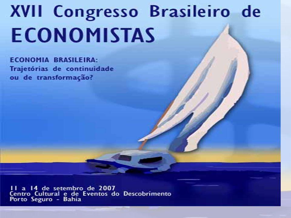 O EVENTO O XVII Congresso Brasileiro de Economista tem com foco o rumo futuro da economia brasileira com base em estratégias alternativas de desenvolvimento.