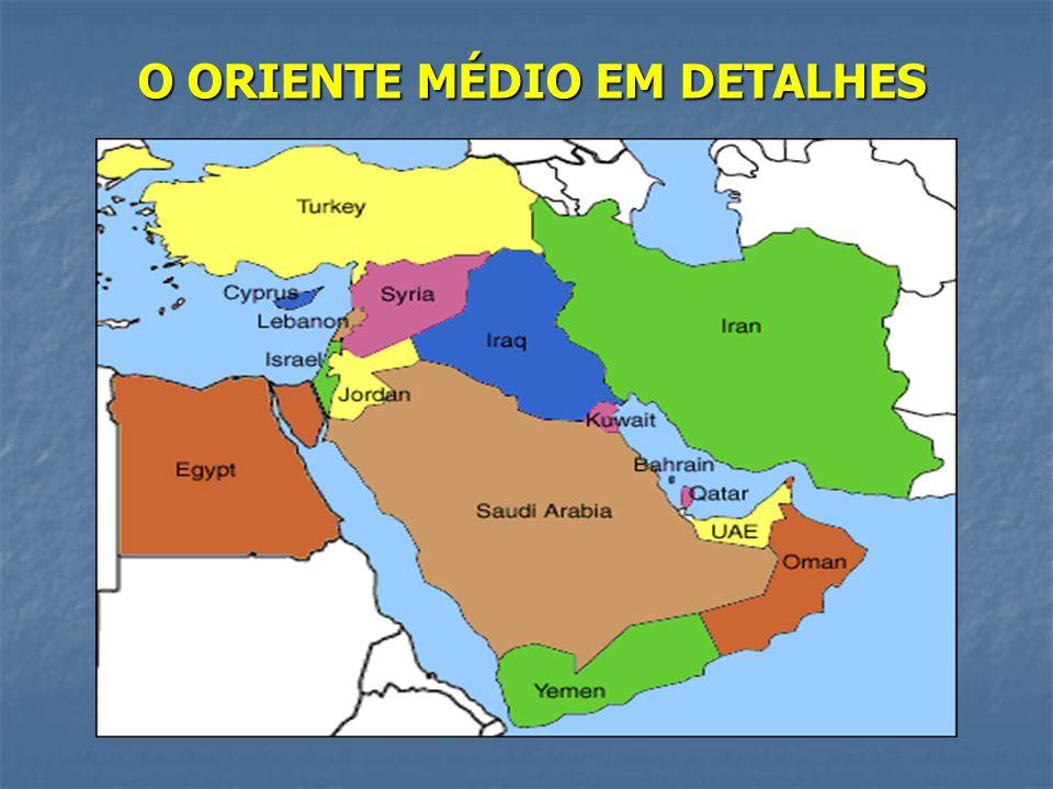 O ORIENTE MÉDIO EM DETALHES
