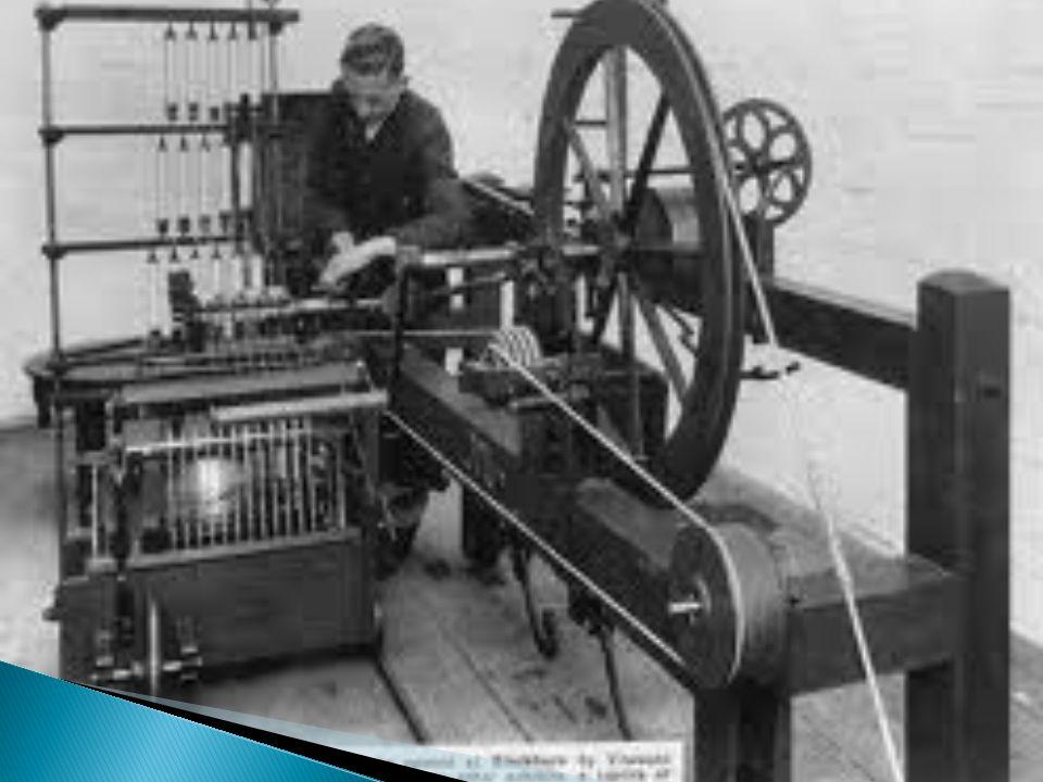  Edmund Cartwrigth;  Solucionou os problemas de outras máquinas;