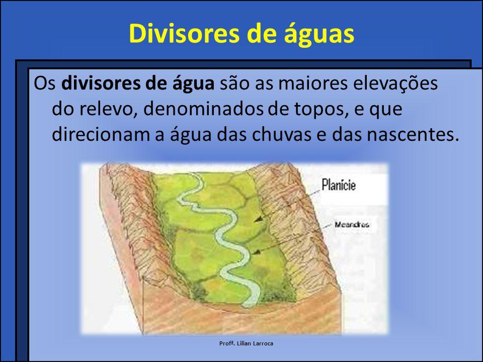 Partes do rio Entre a nascente e a foz, inúmeros afluentes se incorporam ao rio principal, aumentando seu volume de água.