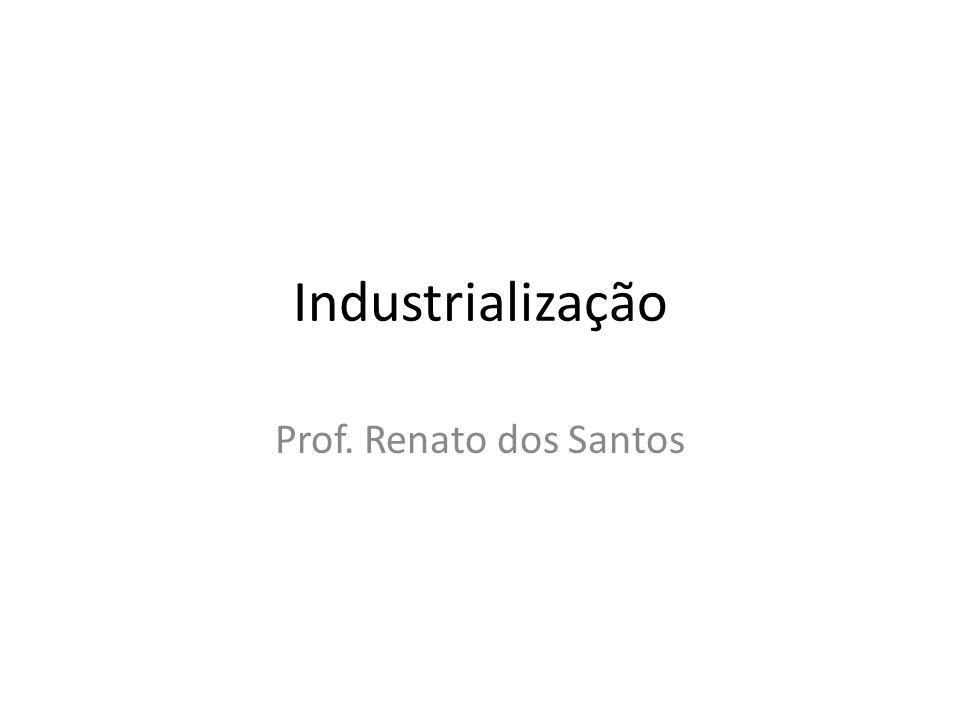 Indústria Classificação: O setor industrial de transformação pode ser classificado quanto ao tipo de indústria.