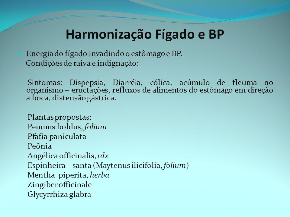 Harmonização Fígado e BP Energia do fígado invadindo o estômago e BP.