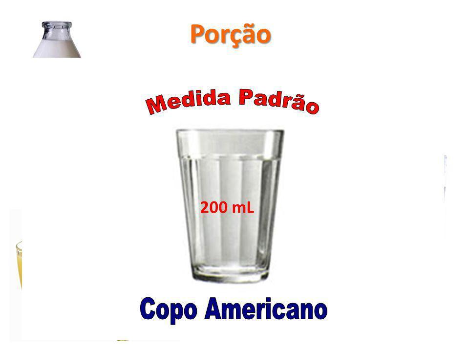 Copo Refrigerante Suco Leite 200 mL Porção