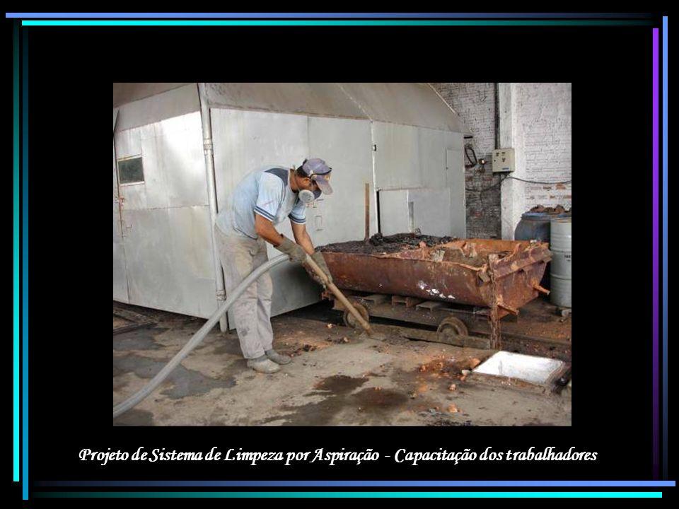 Projeto de Sistema de Limpeza por Aspiração - Capacitação dos trabalhadores