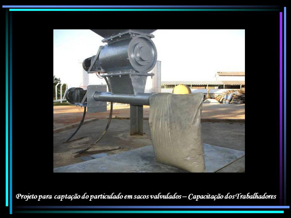 Projeto para captação do particulado em sacos valvulados – Capacitação dos Trabalhadores