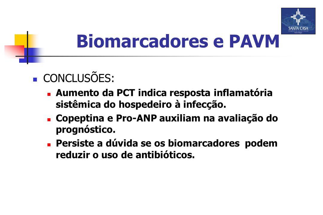 CONCLUSÕES: Aumento da PCT indica resposta inflamatória sistêmica do hospedeiro à infecção.