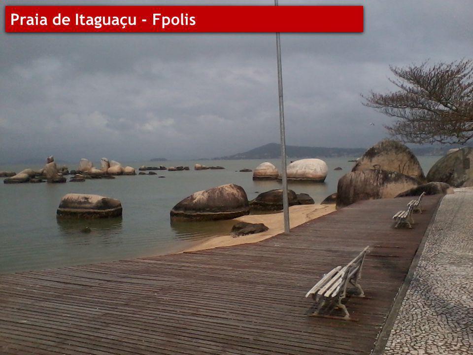 Praia de Itaguaçu - Fpolis