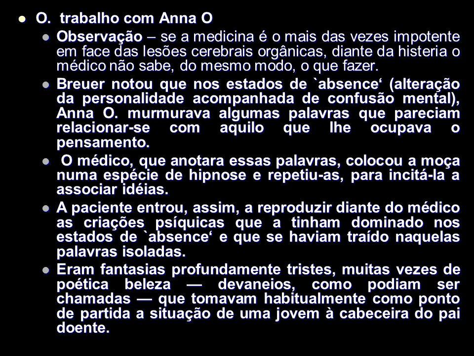 O.trabalho com Anna O O.
