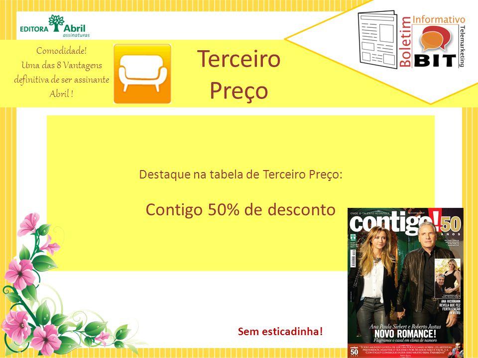 Dupla Perfeita A oferta Dupla Perfeita é uma combinação das melhores revistas do Brasil.