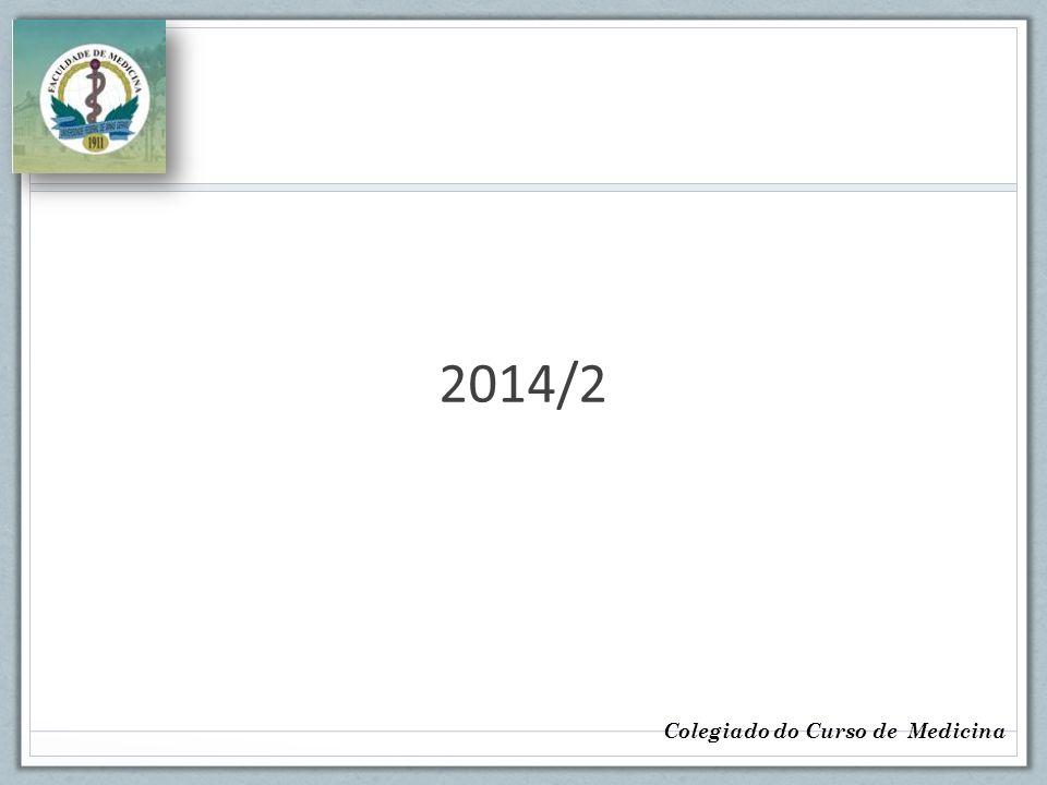 2014/2 Colegiado do Curso de Medicina