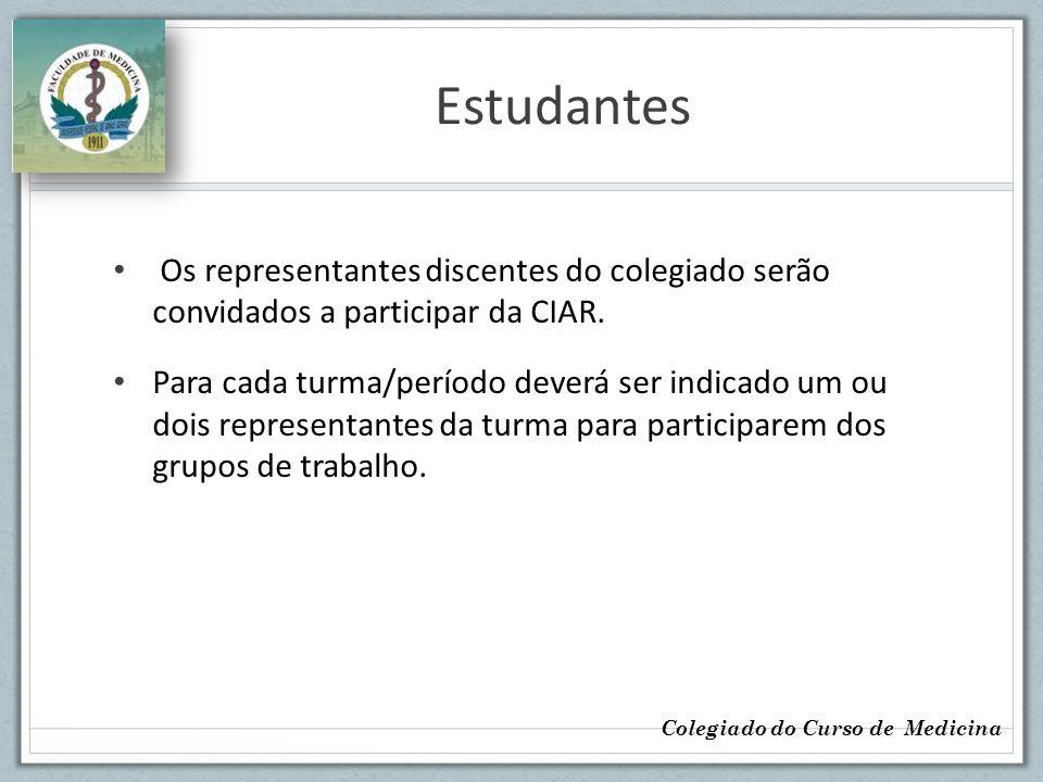 Técnico-administrativos Cegrad Infra-estrutura Colegiado do Curso de Medicina
