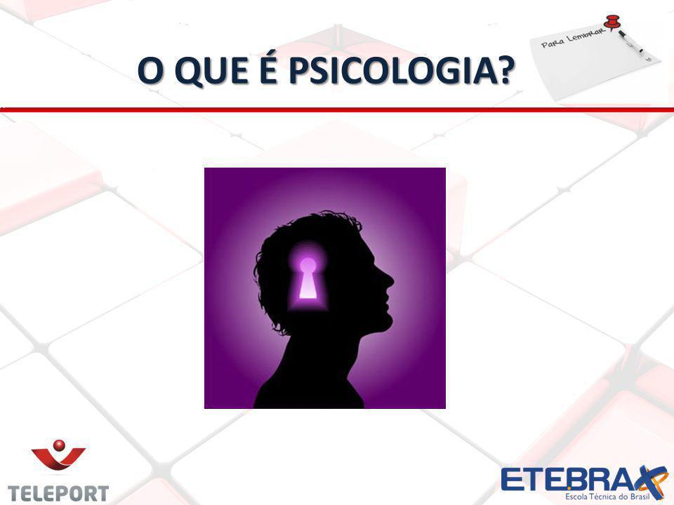 22 O QUE É PSICOLOGIA?