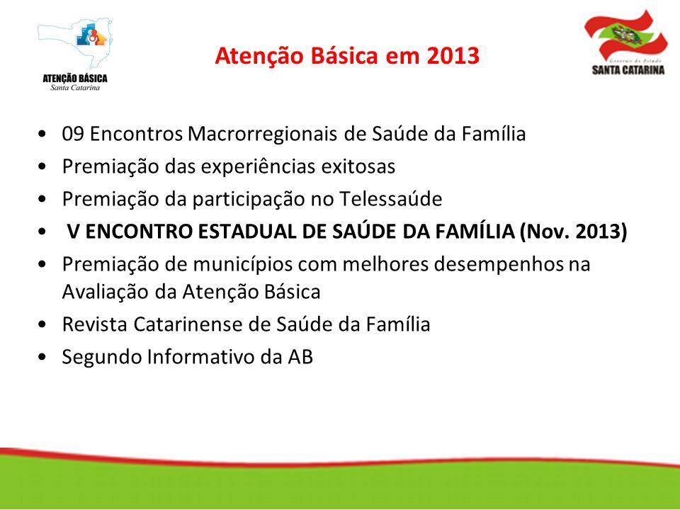 09 Encontros Macrorregionais de Saúde da Família Premiação das experiências exitosas Premiação da participação no Telessaúde V ENCONTRO ESTADUAL DE SA