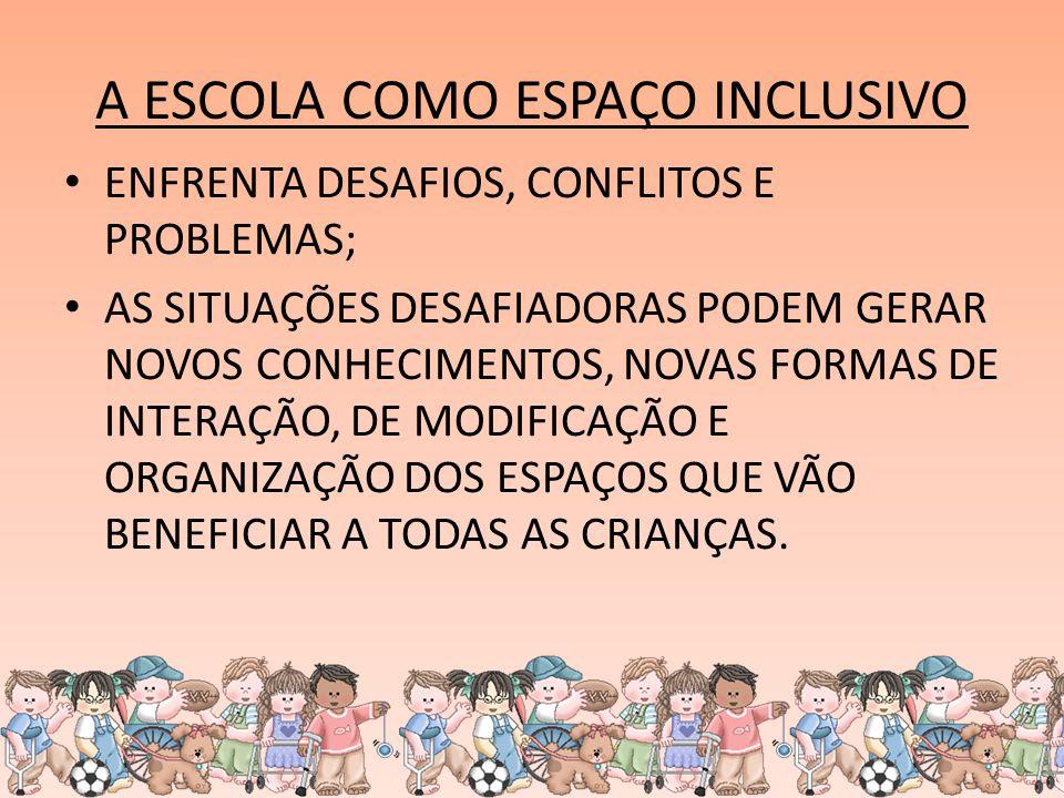 Inclusão é sair das escolas dos diferentes e promover a escola das diferenças (Mantoan)
