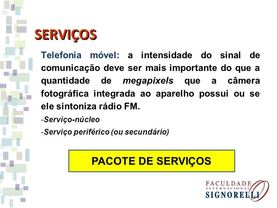 SERVIÇOS Telefonia móvel: a intensidade do sinal de comunicação deve ser mais importante do que a quantidade de megapixels que a câmera fotográfica in