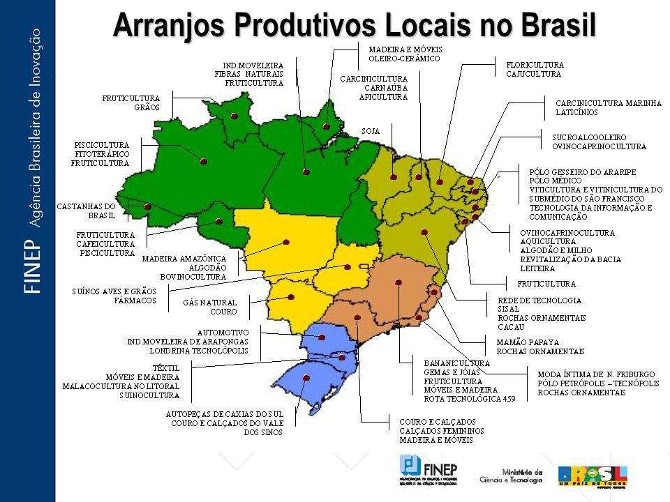 Arranjos Produtivos Locais no Brasil