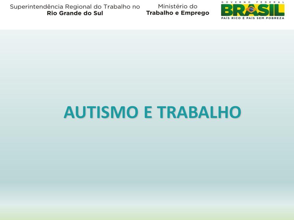 AUTISMO E TRABALHO