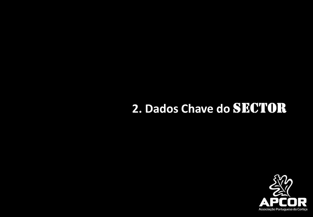2. Dados Chave do Sector