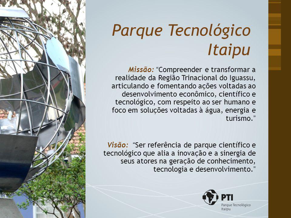 """Missão: """"Compreender e transformar a realidade da Região Trinacional do Iguassu, articulando e fomentando ações voltadas ao desenvolvimento econômico,"""