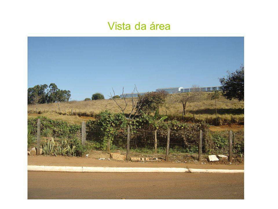Vista da área