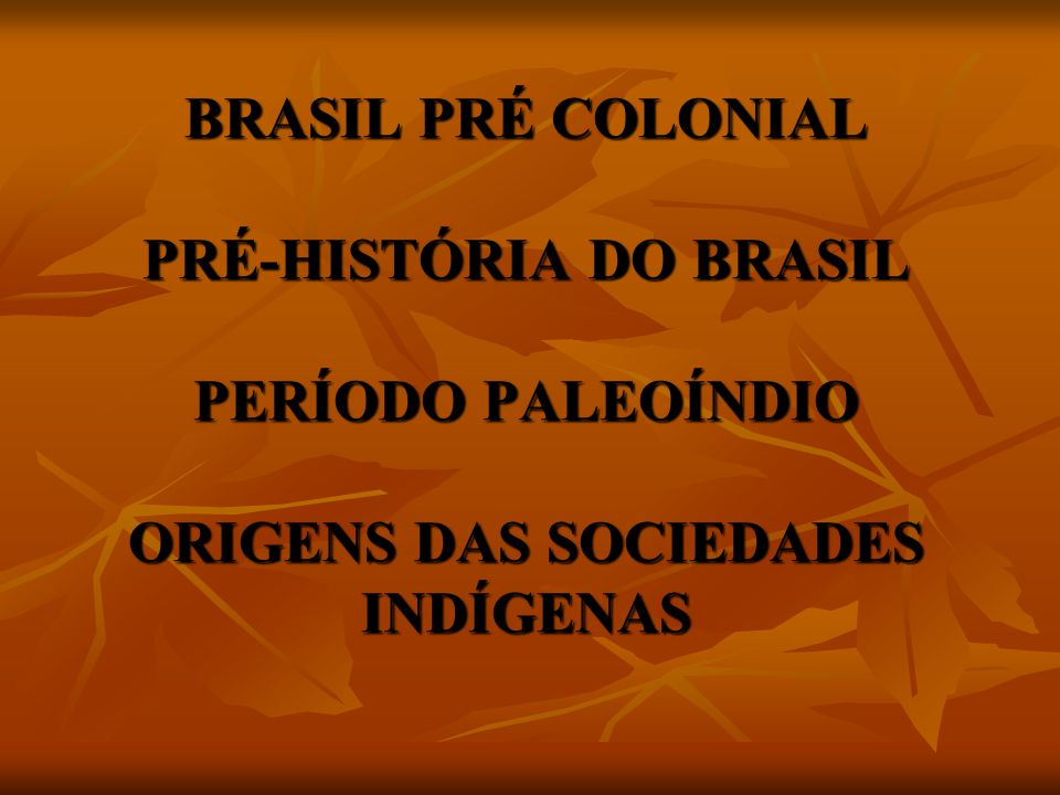 Em síntese pode-se admitir que, penetrando no país por uma via ainda desconhecida, grupos humanos chegaram até o sudeste do Piauí há cerca de 60 mil anos .