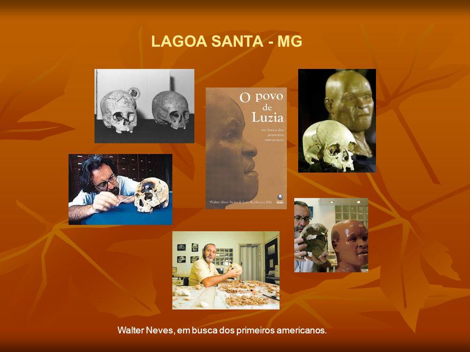 LAGOA SANTA - MG Walter Neves, em busca dos primeiros americanos.