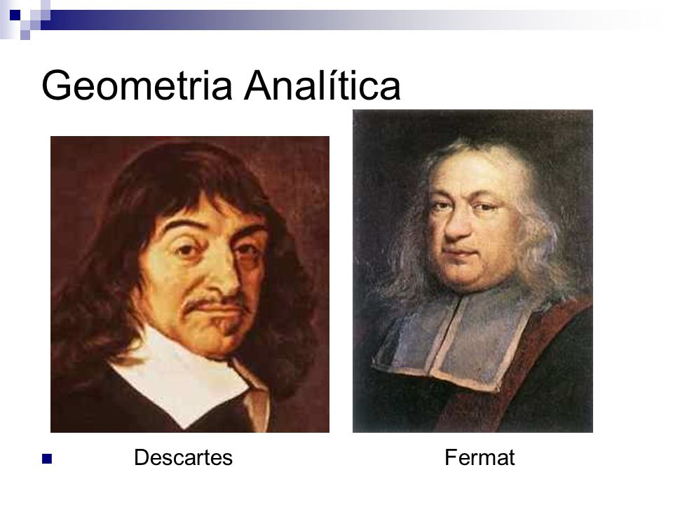 Geometria Analítica DescartesFermat