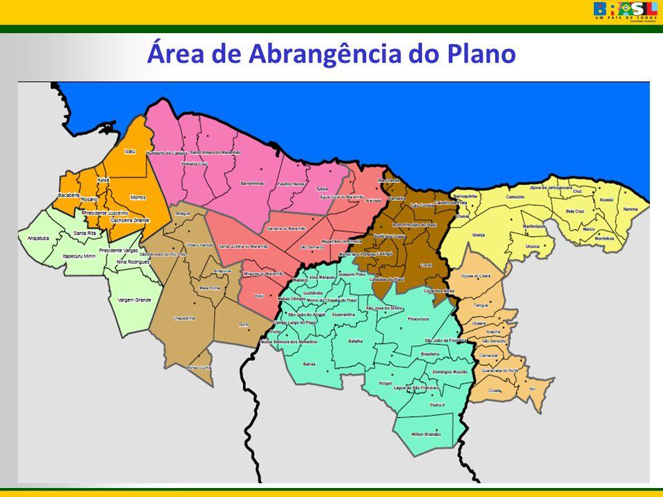 Área de Abrangência do Plano