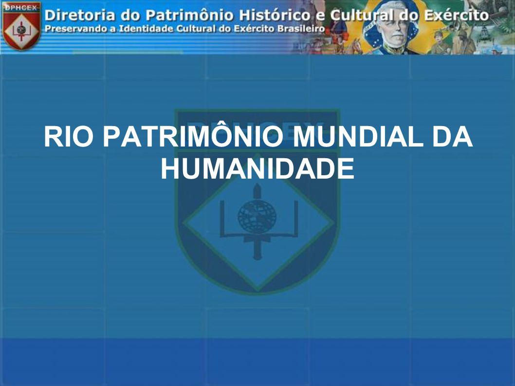 CRONOLOGIA Setembro de 2009 – entrega à UNESCO do dossiê da candidatura.