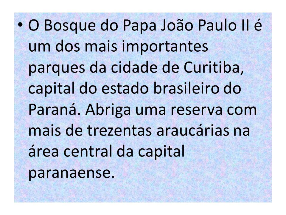 O Bosque do Papa João Paulo II é um dos mais importantes parques da cidade de Curitiba, capital do estado brasileiro do Paraná. Abriga uma reserva com