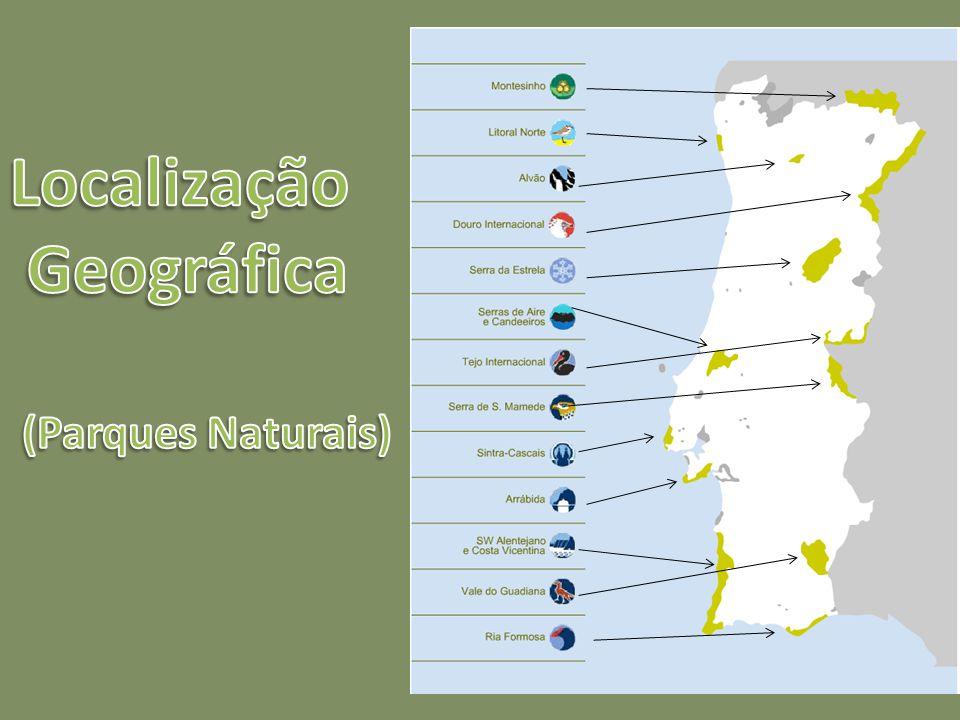 Possui uma extensão de 110 km, numa área total de 74 414,89 hectares, correspondendo a área terrestre a 56 952,79 hectares e a área marinha adjacente a 17 461,21 hectares.