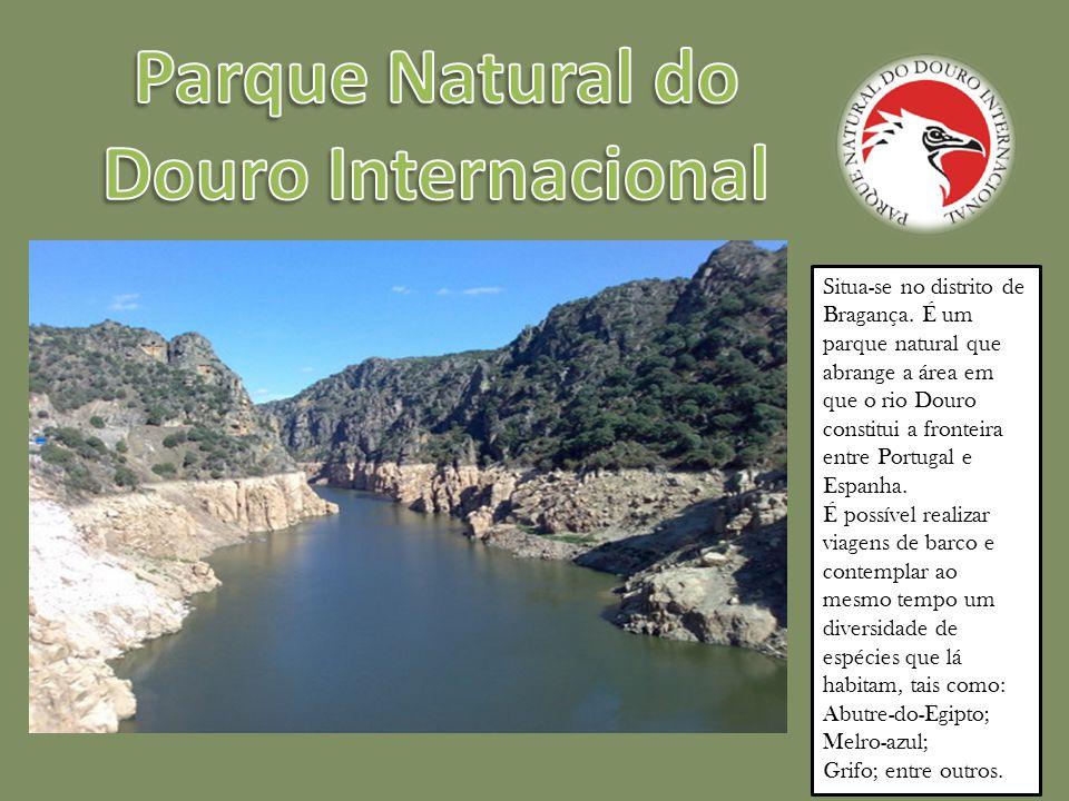 É localizado na Serra da Estrela.