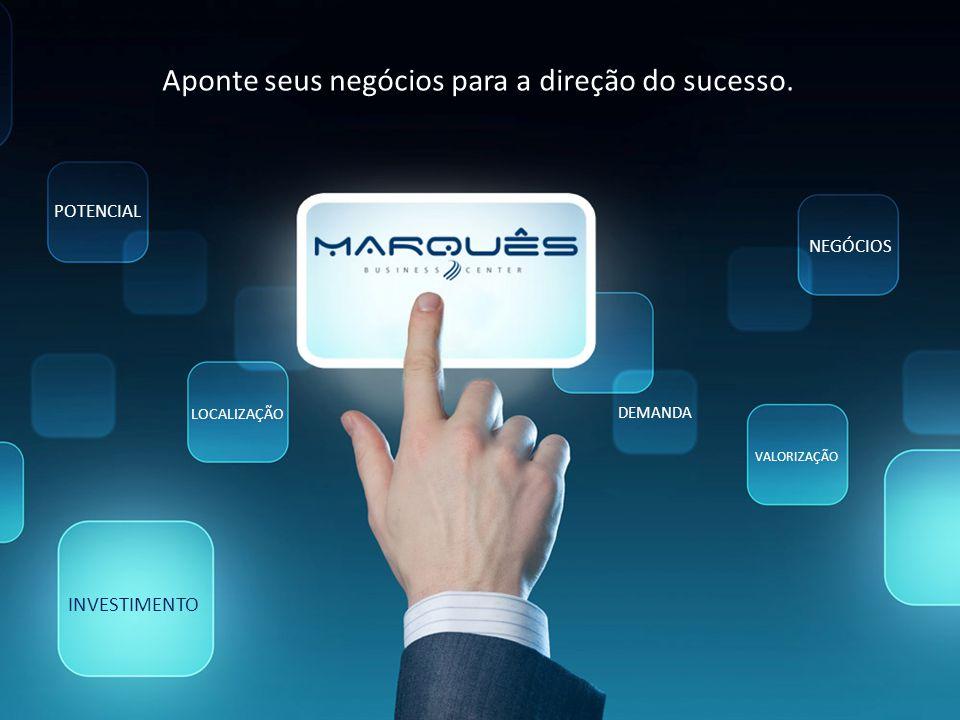 Aponte seus negócios para a direção do sucesso.