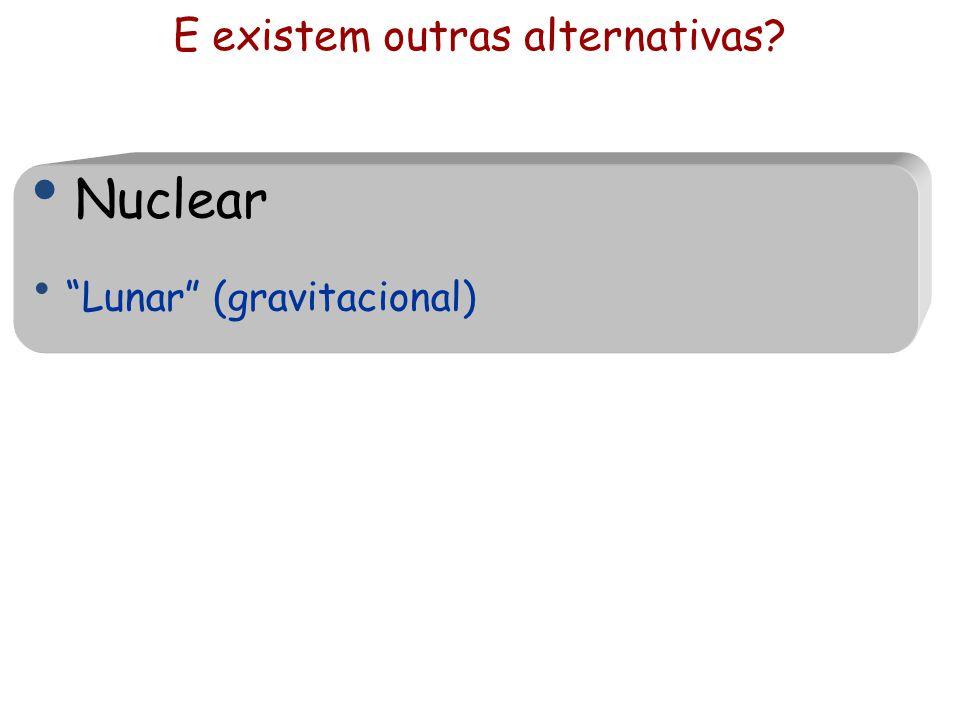 """E existem outras alternativas? Nuclear """"Lunar"""" (gravitacional)"""
