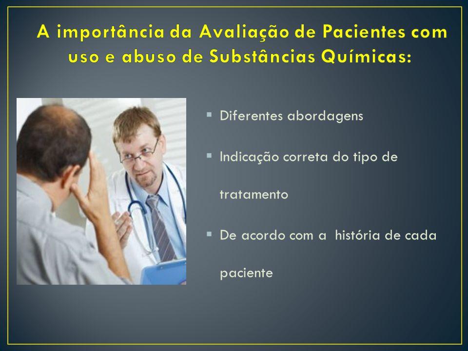  Diferentes abordagens  Indicação correta do tipo de tratamento  De acordo com a história de cada paciente