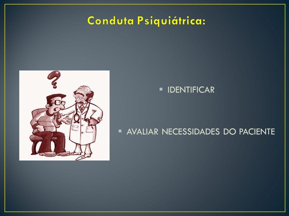  IDENTIFICAR  AVALIAR NECESSIDADES DO PACIENTE
