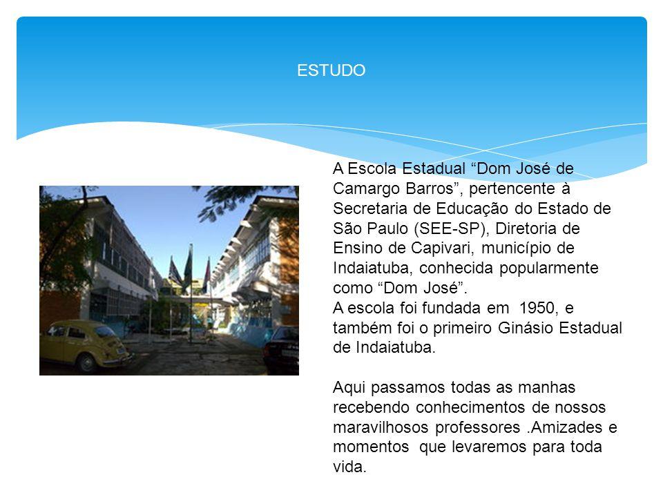 """ESTUDO A Escola Estadual """"Dom José de Camargo Barros"""", pertencente à Secretaria de Educação do Estado de São Paulo (SEE-SP), Diretoria de Ensino de Ca"""