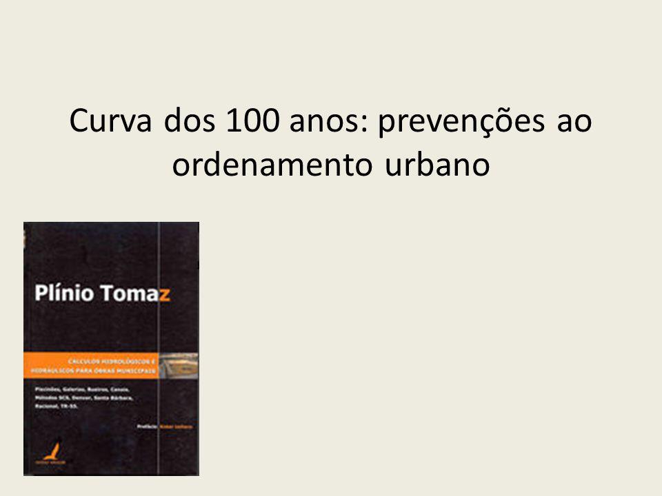 Curva dos 100 anos: prevenções ao ordenamento urbano