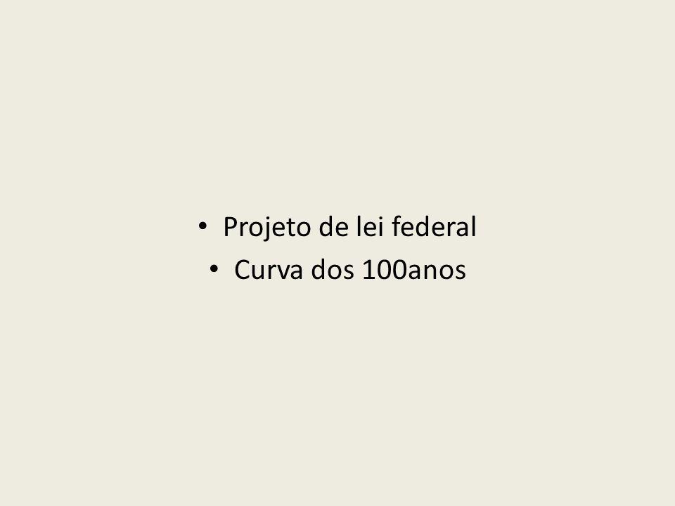 Projeto de lei federal Curva dos 100anos