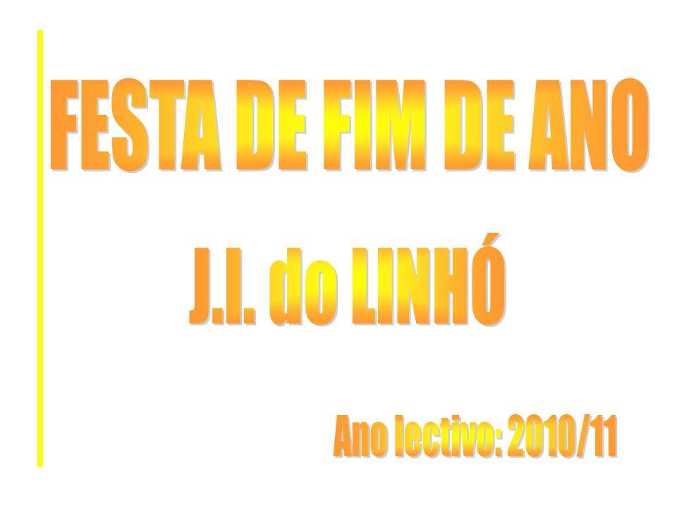 No dia 17 de Junho o grupo de meninos do Jardim de Infância do Linhó, realizou a sua Festa de Fim de Ano no Grupo União Recreativo do Linhó.