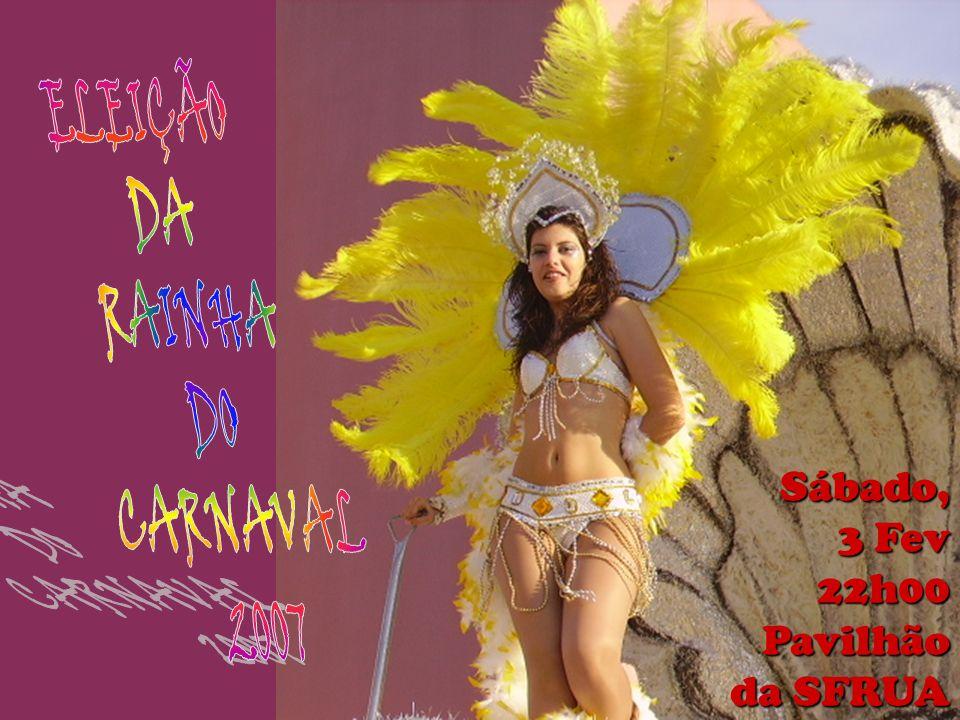 Sábado, 3 Fev 22h00Pavilhão da SFRUA