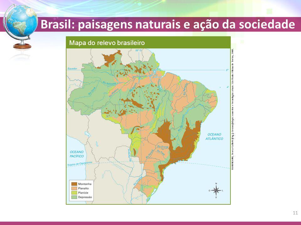 Brasil: paisagens naturais e ação da sociedade FLORENZANO, Teresa Gallotti (Org.).