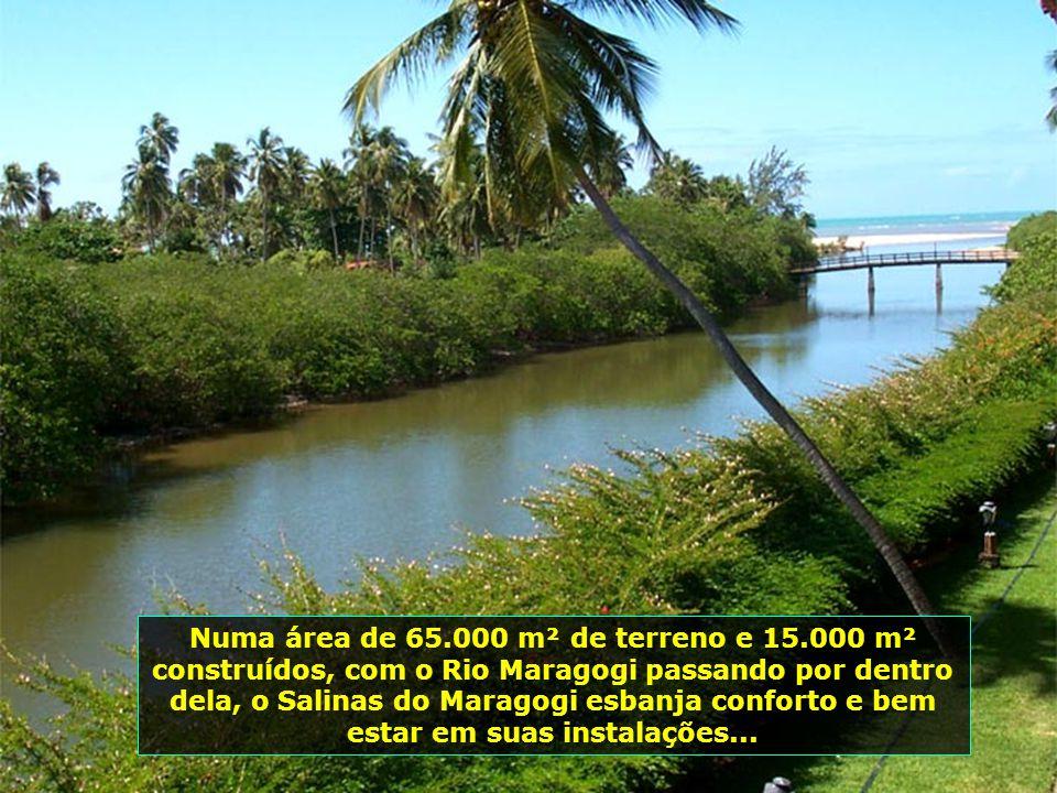 Sua localização, a 125 km do Aeroporto de Recife e os mesmos 125 Km do Aeroporto de Maceió, através de boas rodovias, com traslado próprio, tornam a v