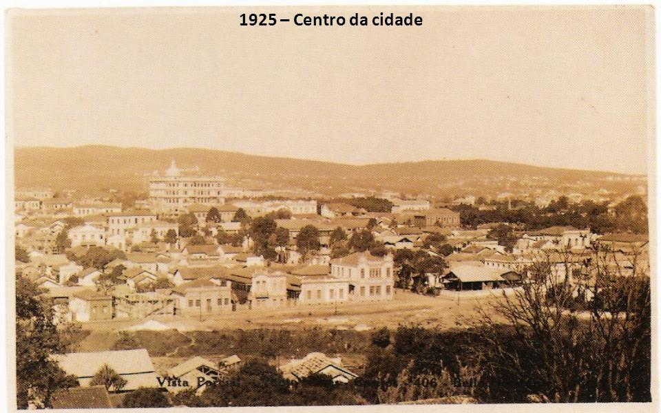 1925 – Centro da cidade