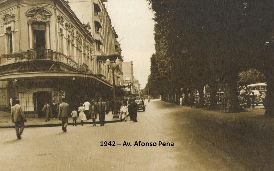 1942 – Av. Afonso Pena