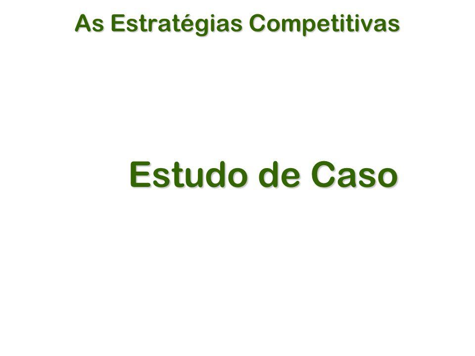 As Estratégias Competitivas Estudo de Caso