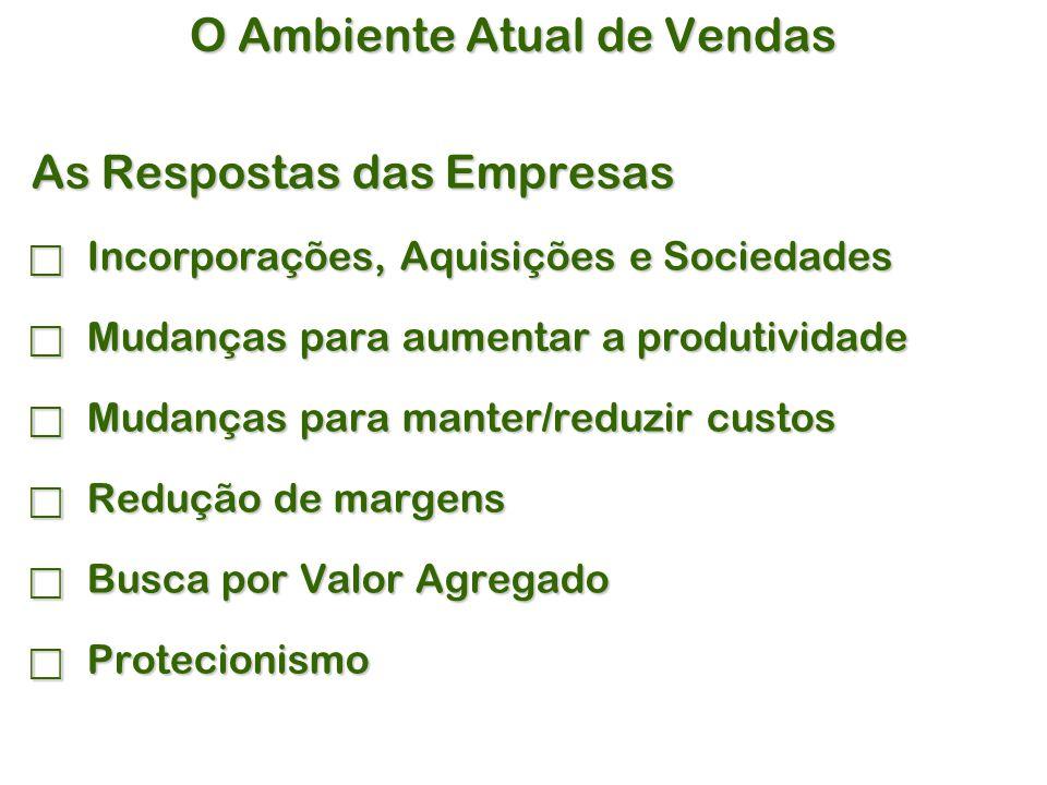 A Venda Consultiva  Principais Vantagens:  Abordagem realmente focada no Comprador.