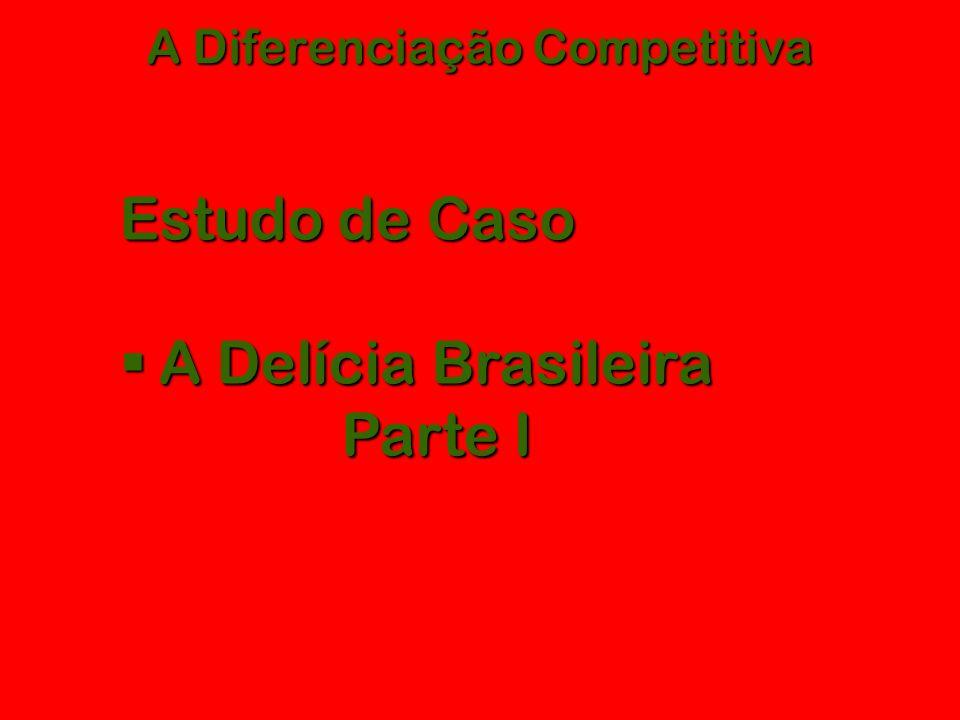 A Diferenciação Competitiva Estudo de Caso  A Delícia Brasileira Parte I
